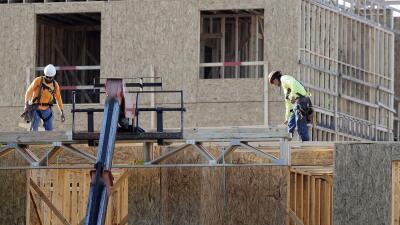 Trabajadores de la construcción en la ciudad de Nashville, en Tennessee.