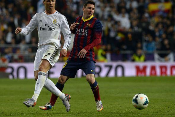 Cristiano Ronaldo y Messi protagonizan un duelo que es ya tan clásico co...