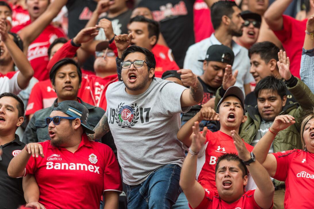 La final de la Copa MX se vivió desde la previa con los fanáticos de Nec...