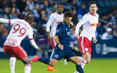 Sporting Kansas City y New York Red Bulls, finalistas de la Copa Abierta.