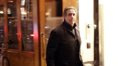 Michael Cohen, abogado personal de Donald Trump.