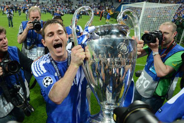 FRANK LAMPARD | El más reciente campeón europeo en llegar a la MLS. Leva...