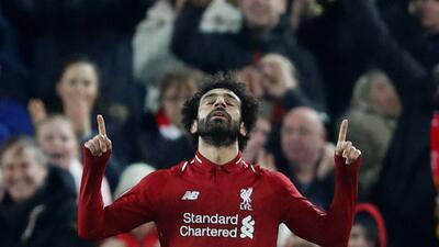 El regreso del 'faraón' de Liverpool: el despliegue de Mohamed Salah contra Napoli
