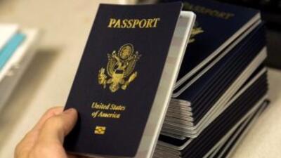 Pasaportes estadounidenses.