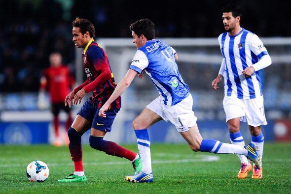 La Real le ganó el planteamiento al Barcelona.