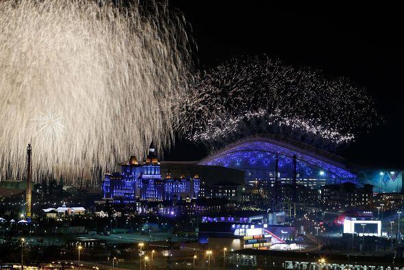 La ceremonia estuvo enfocada en Rusia y en los ideales olímpicos de depo...