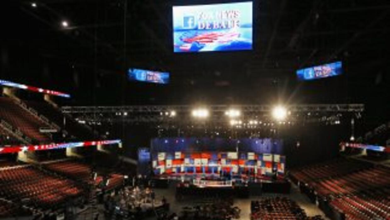 El Quicken Loans Arena de Cleveland, Ohio, donde se celebrará el primer...