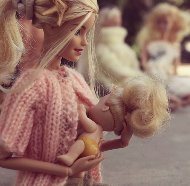 Trophy Wife Barbie