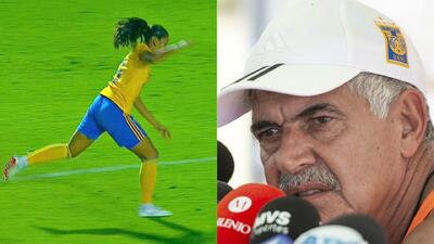 En Tigres femenil hicieron quedar mal al 'Tuca': jugadora simuló penal en el Clásico Regio