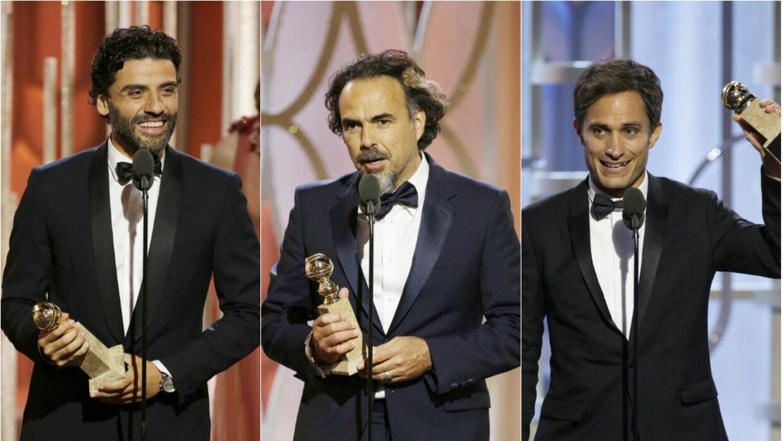 Iñárritu, Isaac y García Bernal: el triunvirato latino que triunfó en lo...