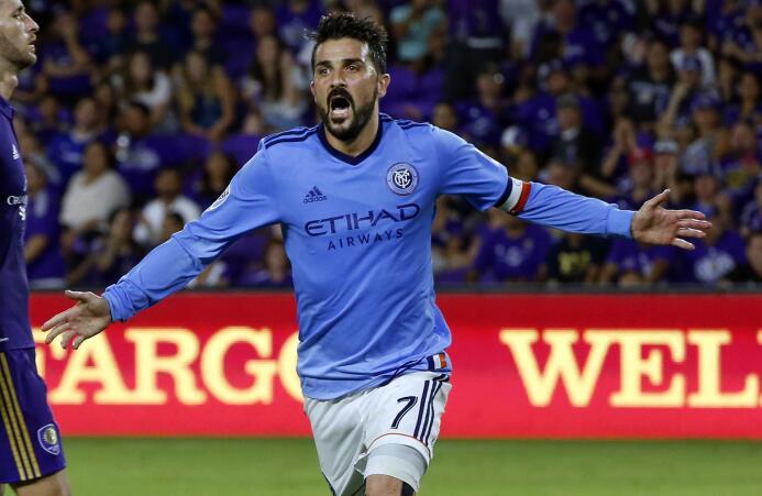 David Villa ya suma 49 goles desde su llegada a la MLS.