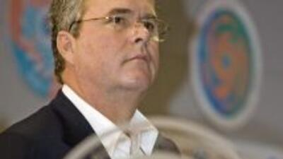 Jeb Bush, ex gobernador de Florida, dijo lo que nadie quería escuchar.