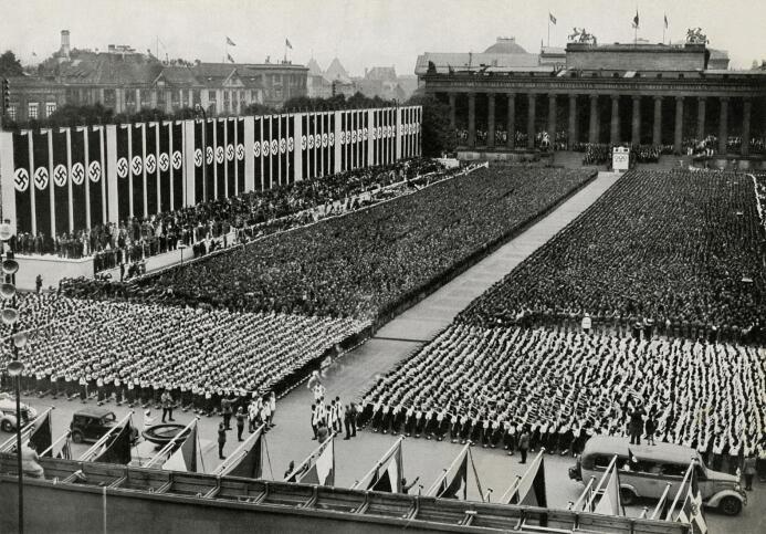 Cuando el deporte se acercó mucho al fascismo y el neonazismo GettyImage...