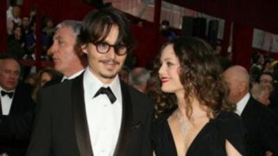 El actor Johnny Depp -que contrajo matrimonio por segunda vez este marte...