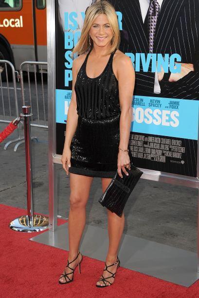 En el caso de Jenifer Aniston: se generó un fuerte rumor acerca de que l...