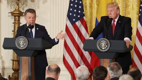 En el gobierno de Trump, ¿EEUU ayudará Colombia con fondos millonarios p...