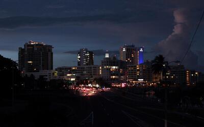Puerto Rico se queda sin energía electrica