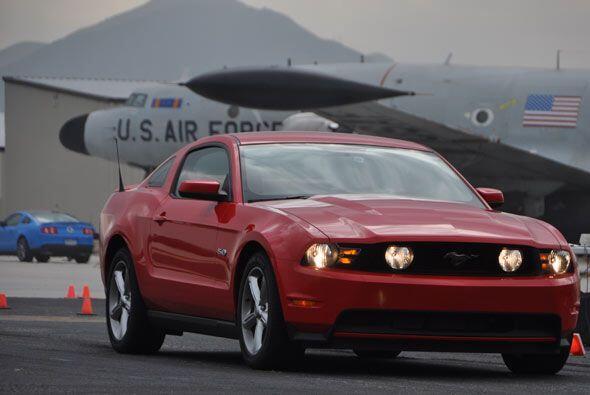 El funcionamiento del Mustang se puede disfrutar hasta 160 millas por ho...