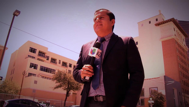 Oscar Gomez reportero de frontera