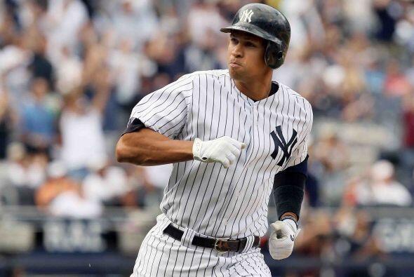 En esta ocasión, uno de los ídolos en los Yankees, Alex Rodríguez, con t...