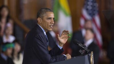 """Obama: """"Sigo creyendo que Trump no será presidente"""" obama.jpg"""