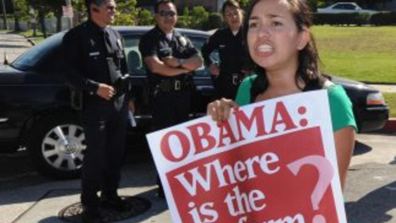 El estancamiento de la reforma migratoria en el Congreso llevó al presid...