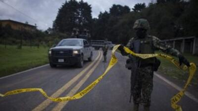 La Policía Estatal Investigadora informó que los cadáveres estaban en el...