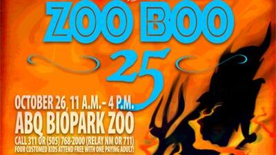 25th Annual Zoo Boo