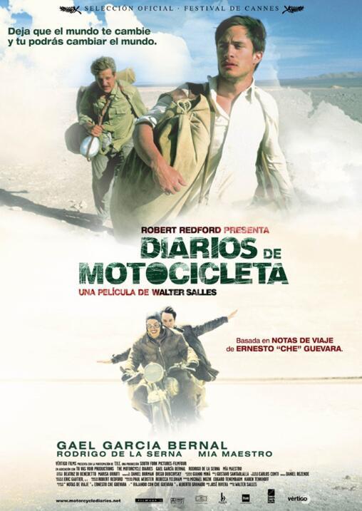Diarios de motocicleta(2004), Brasil, Estados UnidosDirector: Walter Sal...