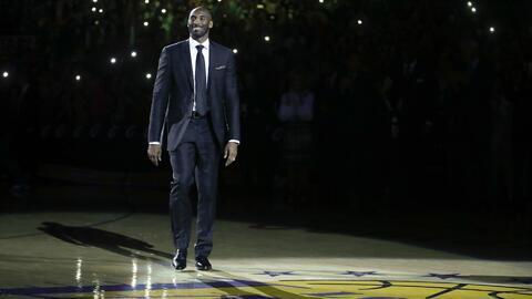 Kobe Bryant ganó cinco campeonatos con los Lakers.