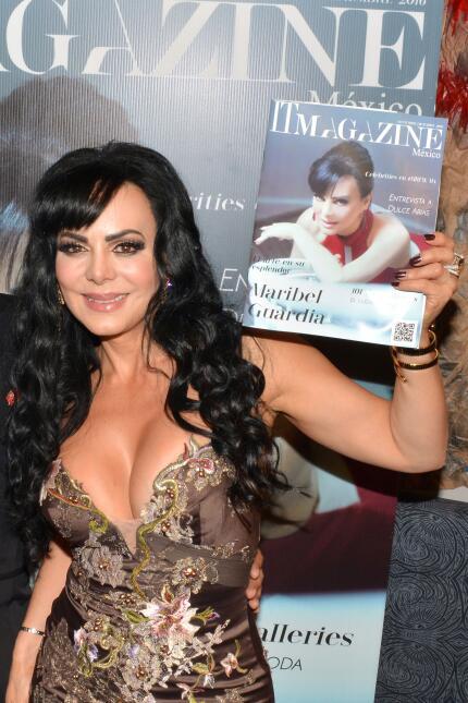 Maribel Guardia posó para IT Magazine y lucía espectacular.