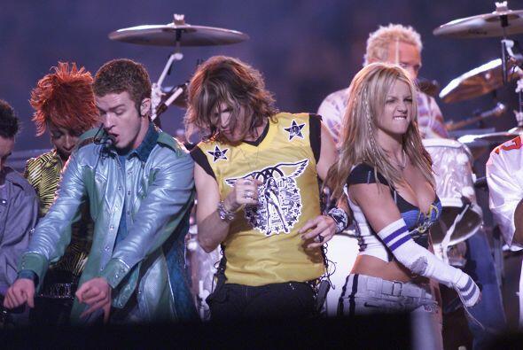 Justin Timberlake, Steven Tyler y Britney Spears hicieron rockear al Sup...