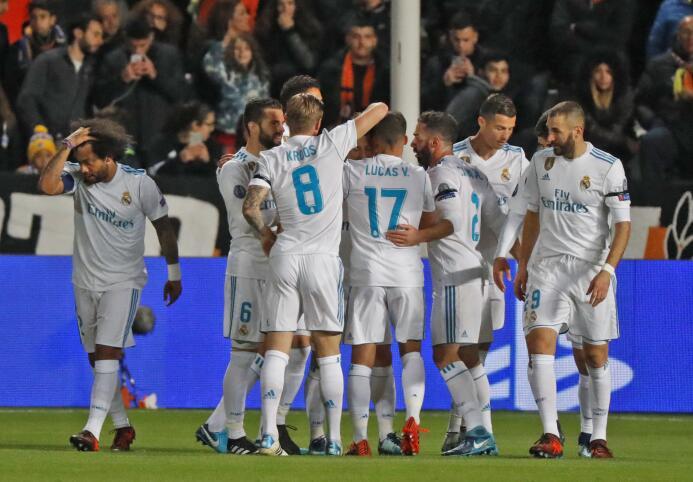 Sin despeinarse, Real Madrid selló su clasificación a octavos de final d...