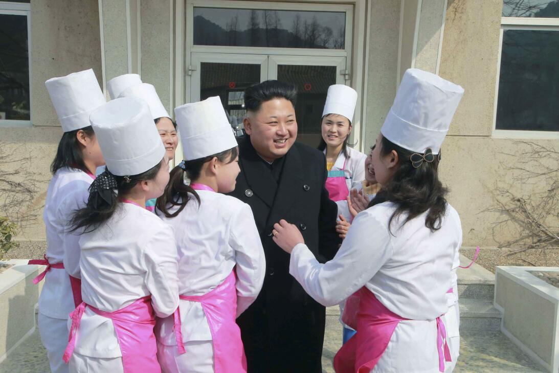 Nordkorea Vergnügungstruppe