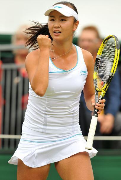 La china Shuai Peng cumplió con su compromiso y eliminó a Melinda Czink.