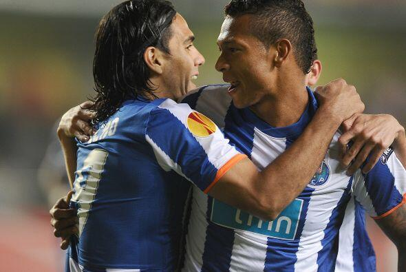 El colombiano Radamel Falcao sumó un gol más a su cuenta como líder de g...