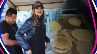 EN FOTOS: Maria Esther cocinó unas gorditas que estaban 'para chuparse los dedos'