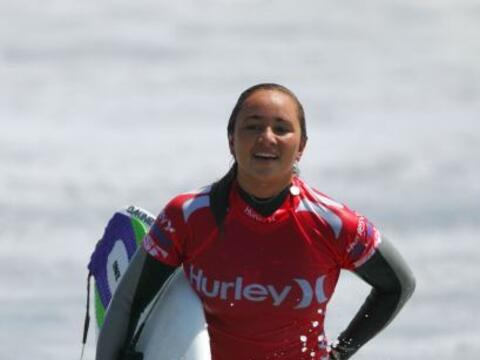 Carissa Moore es una surfista hawaiana que a los 22 ya tiene un n&uacute...