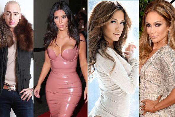 Kim Kardashian, Barbie, Jennifer Lopez y más populares personajes han ob...
