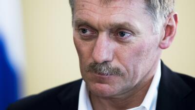 Dmitry Peskov, vocero del presidente ruso Vladimir Putin.