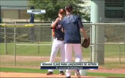Contacto Deportivo Houston: Semana clave para lanzadores de los Astros