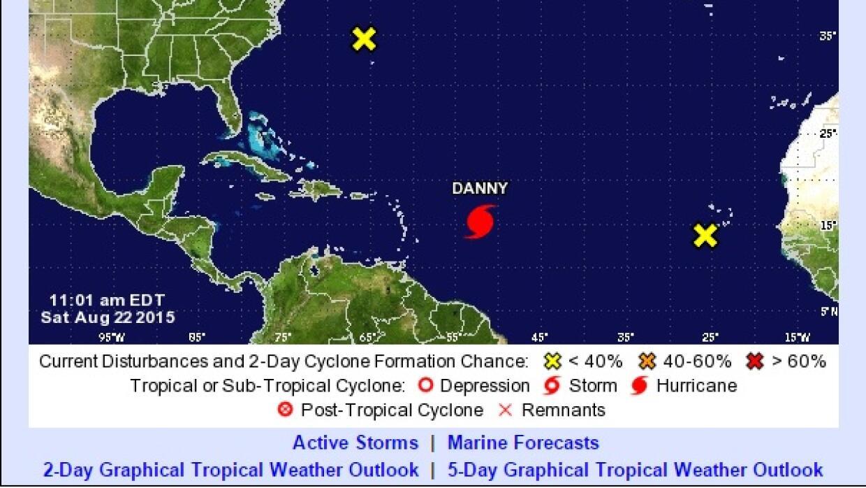 Huracán Danny