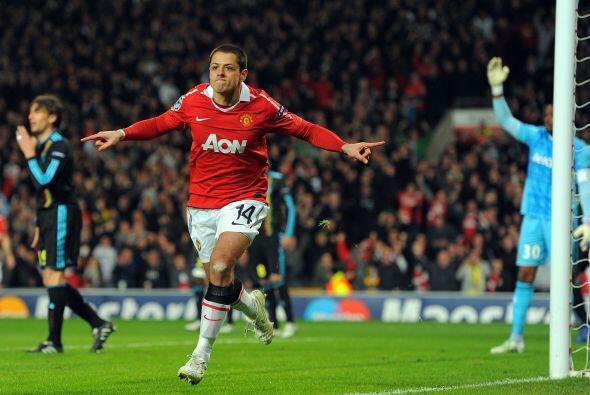 'Man-U' competía en la UEFA y Ferguson lo dejaba de titular. Golazo fren...