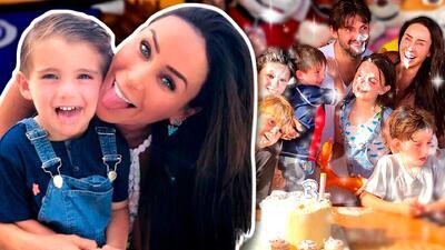Así Inés Gómez Mont logró tiernas caras de sorpresa y alegría en el cumpleaños de su hijo