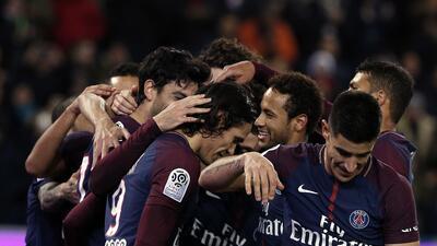 París Saint Germain goleó para tomar ventaja en el liderato en Liga de Francia