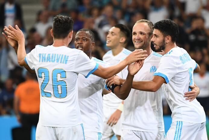 20. Olympique Marseille (Francia): el griego Konstantinos Mitroglou fue...