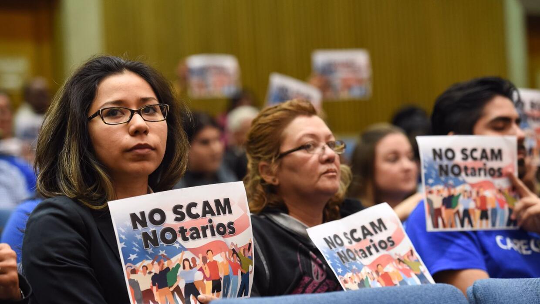 California es el estado donde se registran más casos de fraude migratorio.