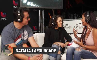 Para Natalia Lafourcade, 'RiseUp As One' fue el escenario indicado para...