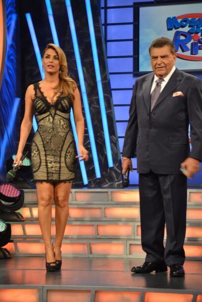 La guapa Rosina Grosso siempre ha entregado todo por el programa.