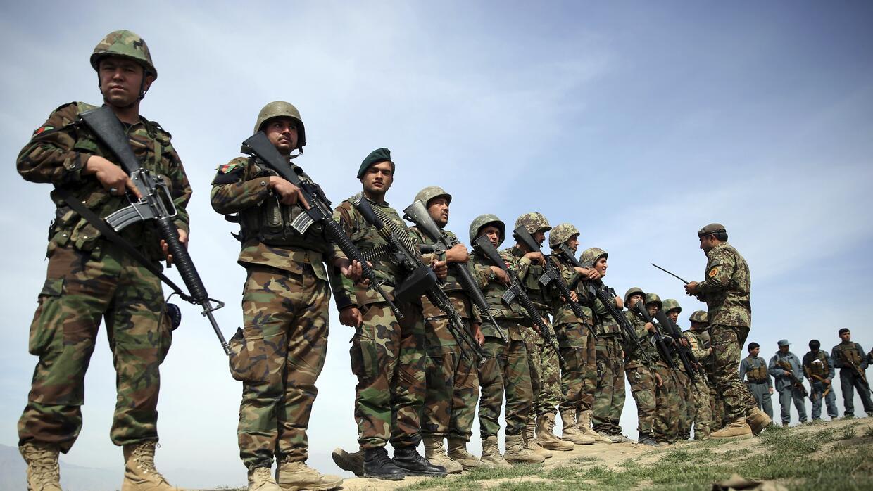 Fuerzas militares afganas